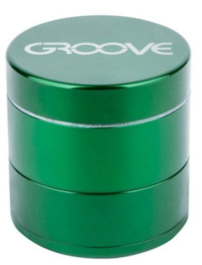 Groove 4 Piece Grinder In Green