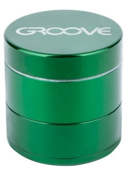 Groove 4 Piece Grinder In Green