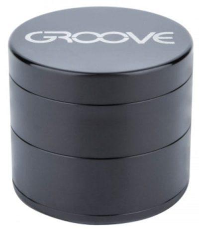 Groove 4 Piece Grinder In Black