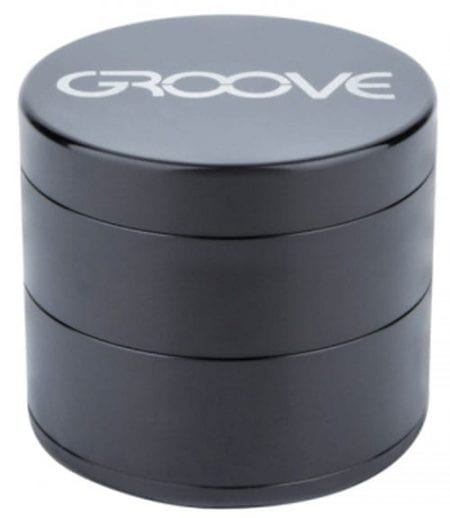Groove 4 Piece Grinder In Black