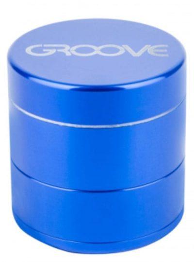 Groove 4 Piece Grinder In Blue