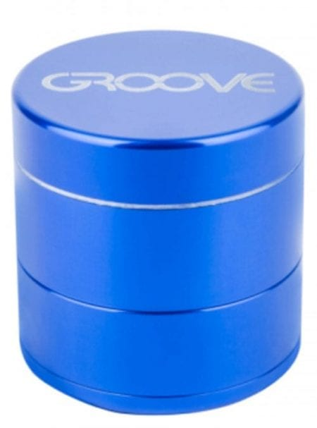 Groove 4 Piece Grinder In Blue