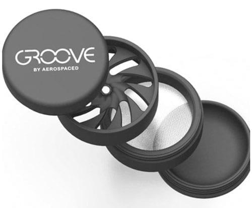 Groove 4 Piece Grinder Details