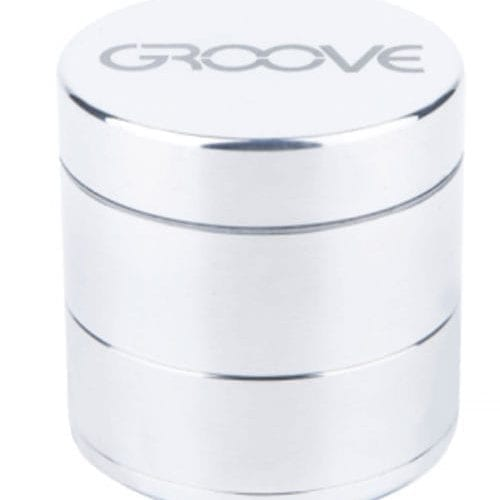Groove 4 Piece CNC Machined Grinder W/ Sifter