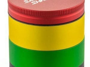 Santa Cruz Rasta 4 Piece Mini Grinder