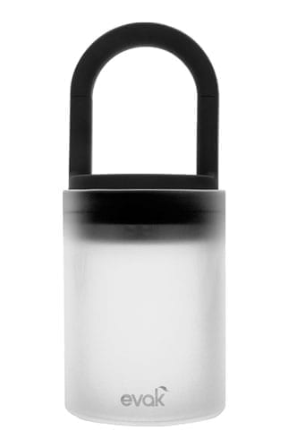 Evak Medium Airtight Glass Container – Frosted