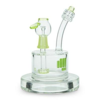 Snoop Dog Pounds Spaceship Dab Rig In Green