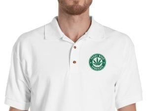 Texas Weed Syndicate Embroidered Polo