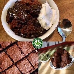 Keto Lo Carb Pot Brownies