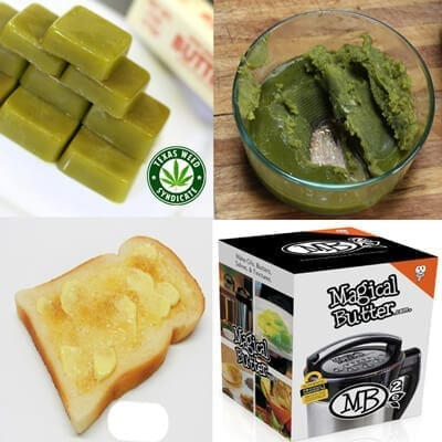 Easy To Make Cannabutter!