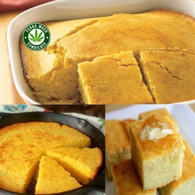 Marijuana Infused Cornbread