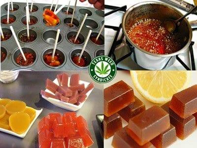 Marijuana Infused Lollipops & Hard Candies