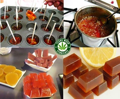 Marijuana Infused Lollipops & Hard Candies
