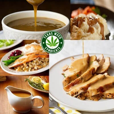 Perfect Marijuana Infused Thanksgiving Gravy