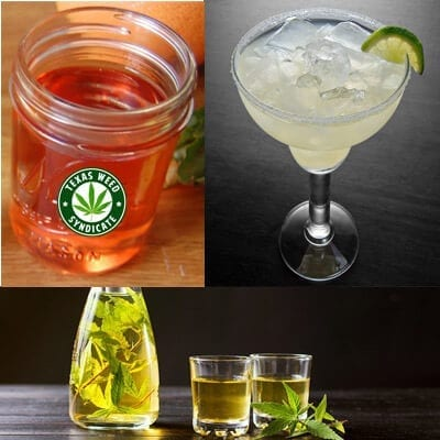 Marijuana Infused Tequila - Margaritas