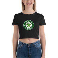 Texas Weed Syndicate Women's Crop Tee