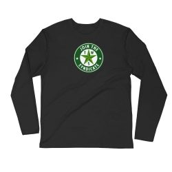 Texas Weed Syndicate Long Sleeve Fitted Crew