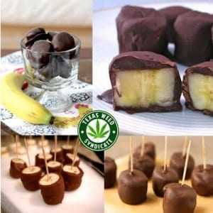 Read more about the article Weed Chocolate Covered Banana Bites