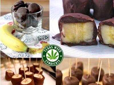 Weed Chocolate Covered Banana Bites Recipe