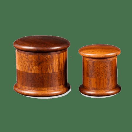 KAerospaced 2.0″ (53mm) 4 Piece Wooden Grinder/Sifter