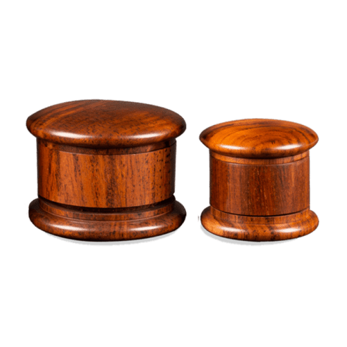 Aerospaced 3.0″ (75mm) 3 Piece Wooden Grinder