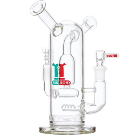 8 Grav Labs Android Flare Stemless Water Pipe