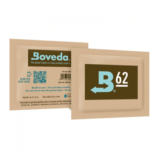 Boveda – 2 Way 62% Humidity Control – 60Gram