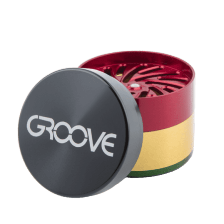 Groove 4-Piece Grinder