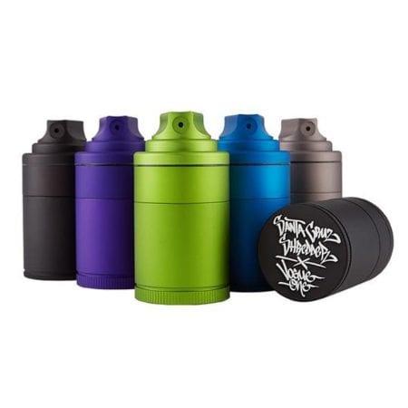 Santa Cruz Shredder Vogue Aluminum Spray Grinder