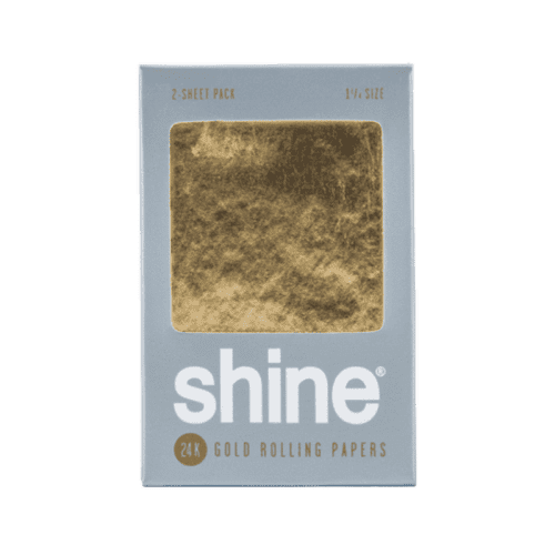 Shine 24k White Gold Papers – 2 Sheet 1.25