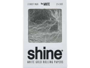 Shine 24k White Gold Papers - 2 Sheet 1.25
