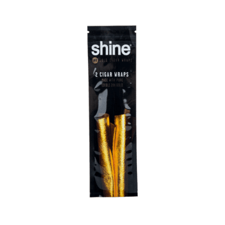 Shine Gold Blunt Wraps