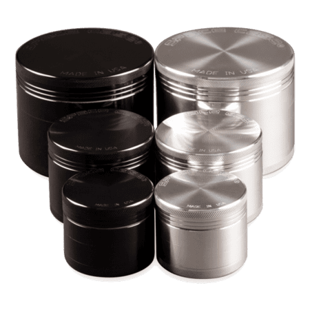 Space Case 4 Piece Grinders Sifters
