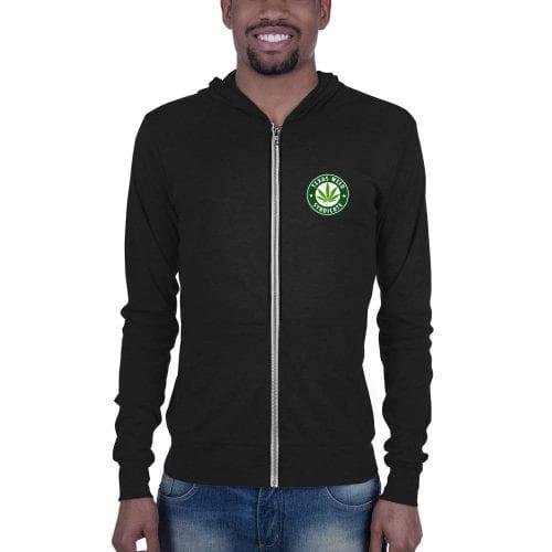 Texas Weed Syndicate Unisex zip hoodie