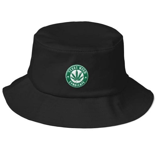 Texas Weed Syndicatte Old School Bucket Hat