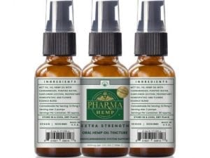 Holistic CBD Oral Spray/Tincture Extra Strength – 1oz/1,100mg
