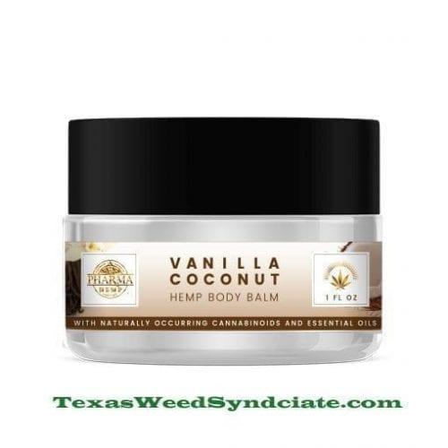 Vanilla / Coconut CBD Moisturizing Body Balm