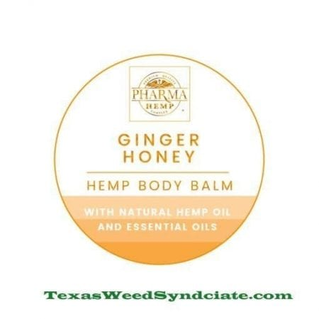 1oz ginger honey cbd topical moisturizer