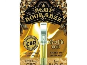 250mg prefilled gold cbd oil cartridge