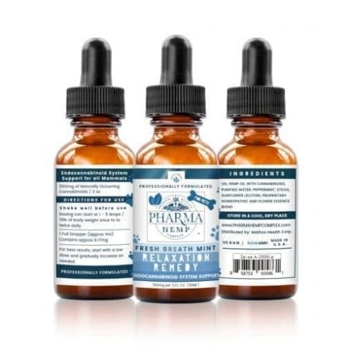 2oz/550mg Vg-Base CBD Oral Spray For Pets