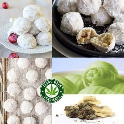 Marijuana Snowball Christmas Cookies Recipe