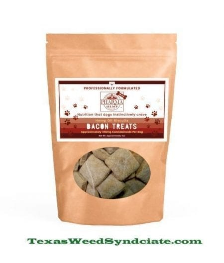 The Best Bacon CBD Dog Biscuits
