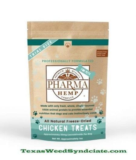CBD & Freeze Dried Chicken Pet Treats