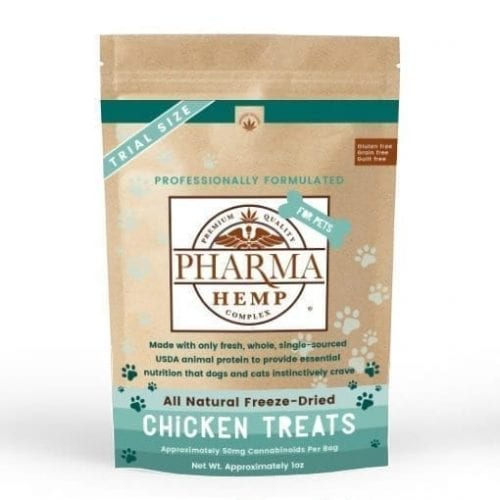 Pet CBD Treat Freeze Dried Chicken