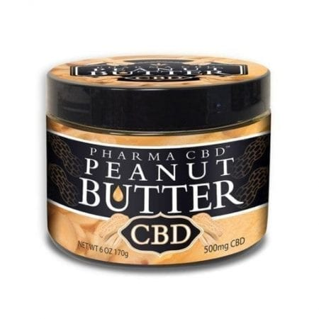 Peanut Butter Infused With CBD Oil