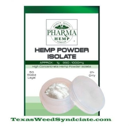 Hemp CBD Isolate Powder / CBD Crystalline