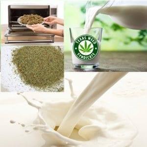 Cannabis Infused Milk Recipe