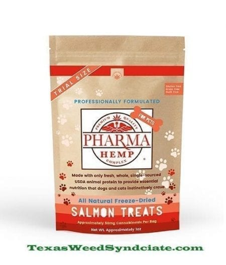 Freeze Dried Salmon CBD Pet Treats