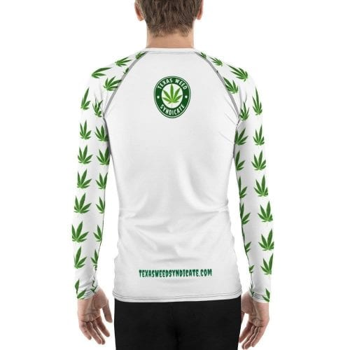 TWS – Weed Sleeves Men's Rash Guard