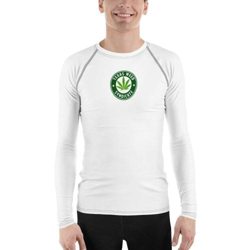 Texas Weed Syndicate Men's Rash Guard